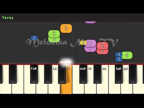 Cağtay akman bizim hikaye notası ve calınışı melodika