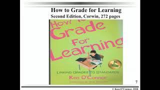 Ken O'Connor: How to Grade for Learning Webinar