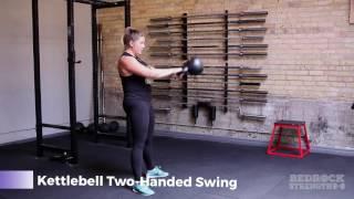 Bedrock Strength Demo: Kettlebell Two-Handed Swing