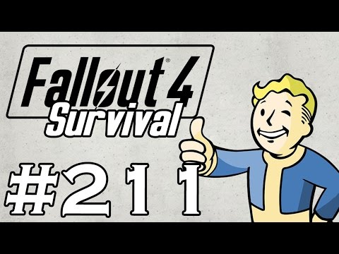 Let's Play Fallout 4 - [SURVIVAL - NO FAST TRAVEL] - Part 211 - Herbal Stimulants