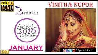 Alpha Digitech Bridal Calendar Photo Shoot 2016 January | Vinita Nupur