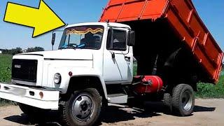 Чем отличаются Советские грузовики ГАЗ-3307 и 3507?