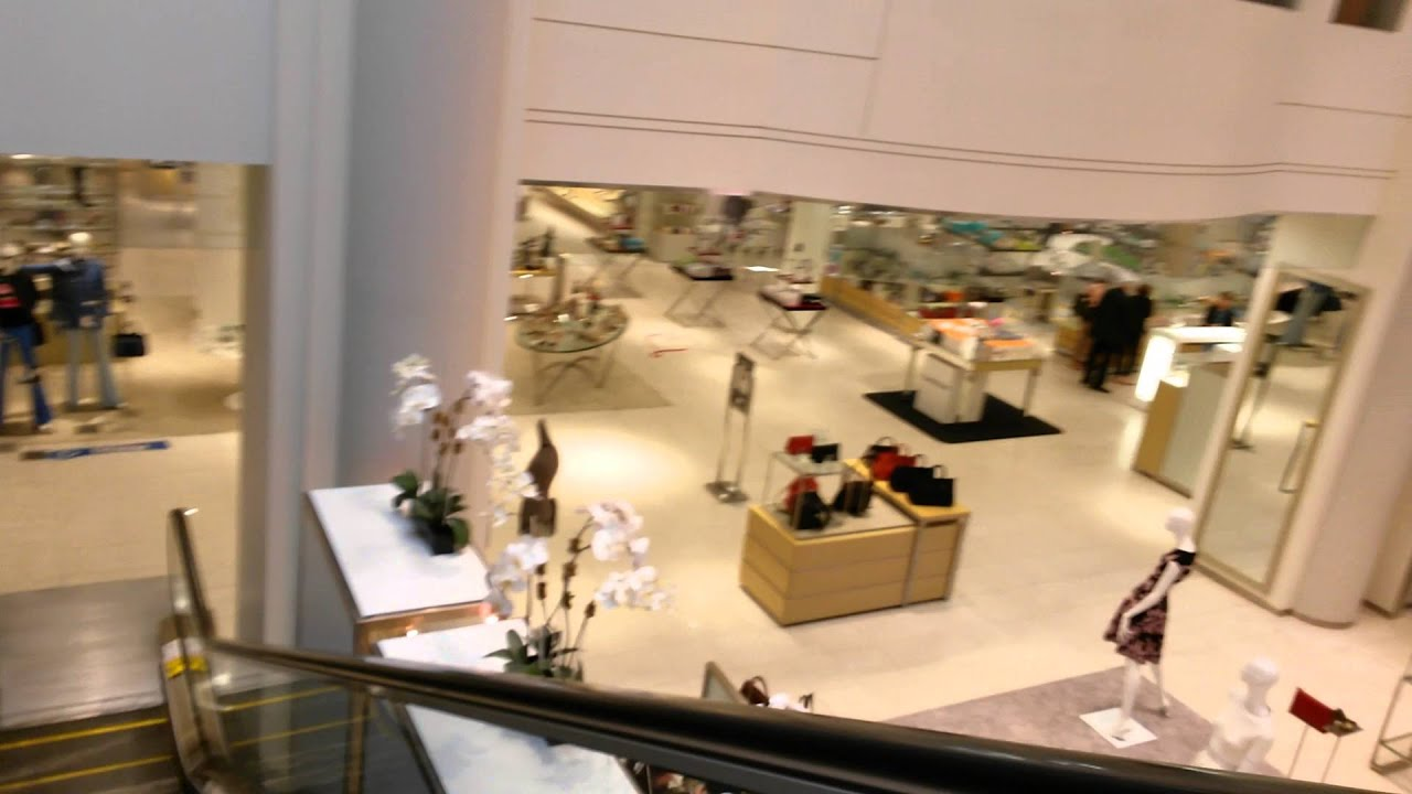 Montgomery Escalators At Saks Fifth Avenue Palm Beach Gardens Youtube