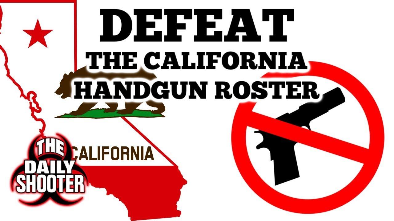 California's Handgun Roster Lawsuit