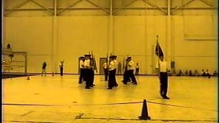 Mcdowell High School Nationals Winning Armed Exhibition 2005 (Spinning Guideon)