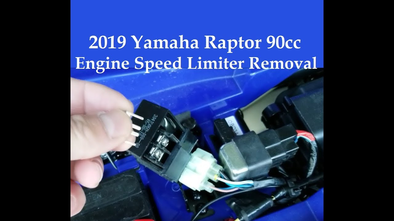 2019 Raptor 90 Engine Speed Limiter Plate Removal Governor Mod