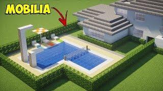 Minecraft Tutorial: Como fazer uma Casa Moderna - MOBÍLIA