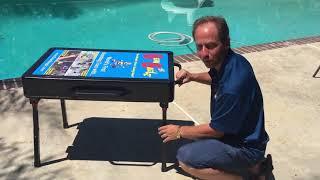 BeanBagglz Cool Feature #44   FREE Chess, Checker, Backgammon Board