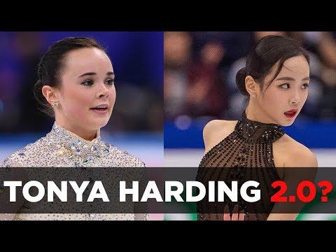 "Mariah Bell & Eunsoo Lim collision called ""Tonya Harding 2.0"""