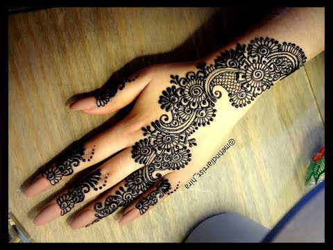 Beautiful trendy easy simple strip bail henna mehndi designs for beautiful trendy easy simple strip bail henna mehndi designs for hands eidpartyweddings 2018 youtube musicbaby thecheapjerseys Choice Image