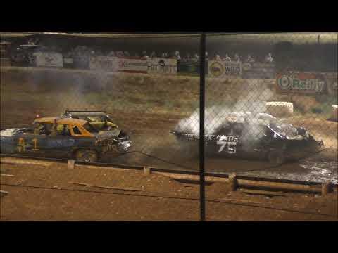 Demolition Derby at Abilene Speedway 8-10-19
