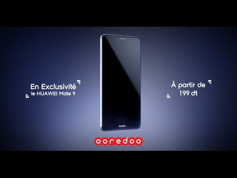 Le Huawei Mate 9 En Exclusivite Chez Ooredoo Tunisie Youtube
