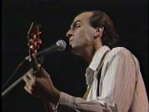 James Taylor - Your Smiling Face (live 1988)