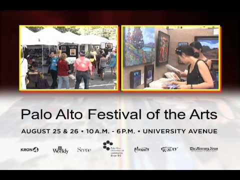 31st Annual Palo Alto Festival of the Arts - 2012 Promo