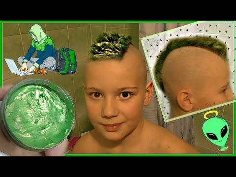 ЗЕЛЕНЫЕ ВОЛОСЫ ПАРИК ИЛИ ПРИЧЕСКА В ШКОЛУ ЧЕЛЛЕНДЖ + КАК ПОКРАСИТЬ ВОЛОСЫ  MY HAIR GREEN