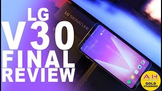 LG V30 Final Retail Model Review - 158 Grams of Perfection