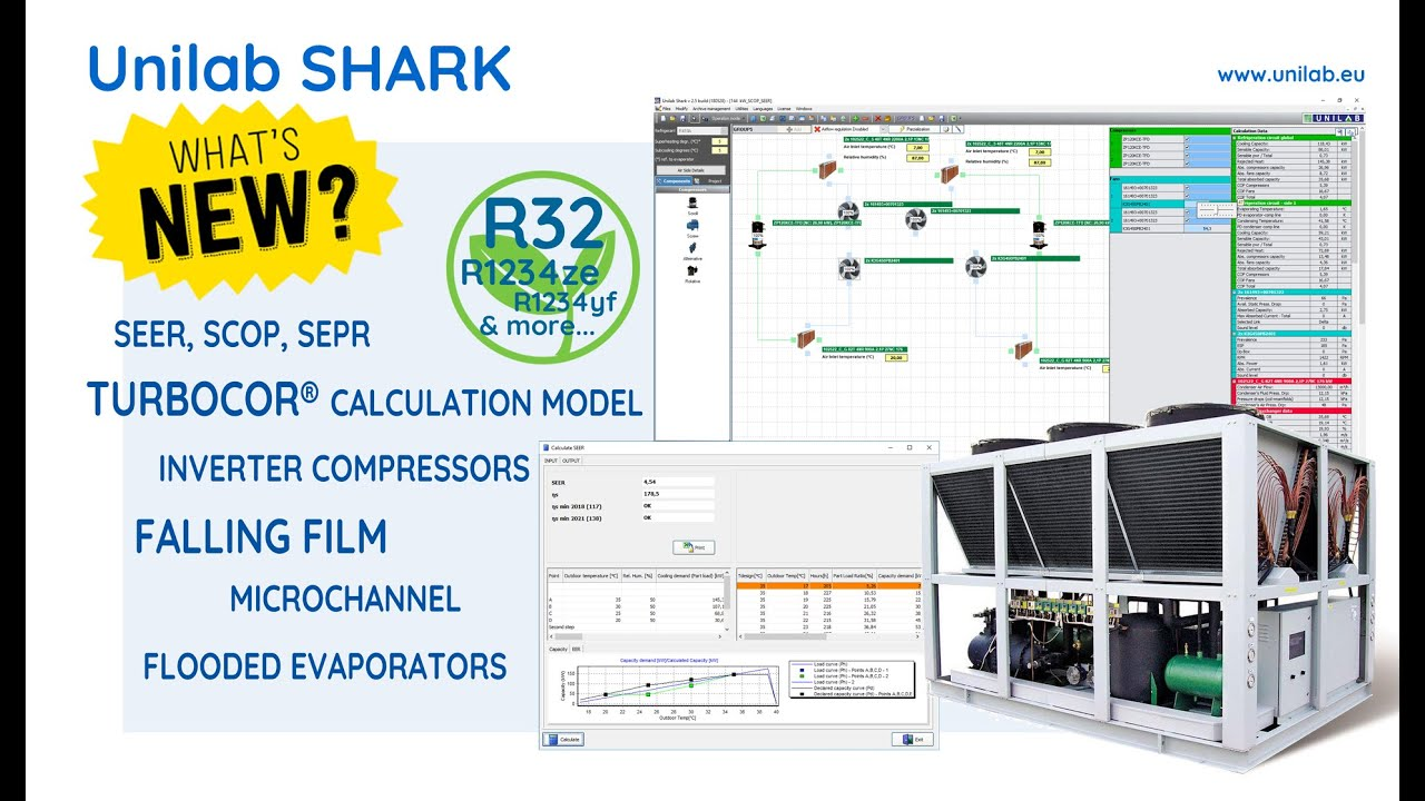 Unilab Shark | UNILAB - Heat Transfer Software