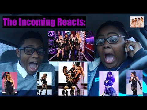 FIFTH HARMONY @ THE PEOPLE'S CHOICE AWARDS REACTION