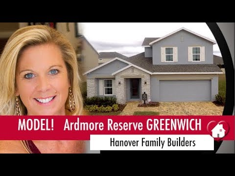 New Homes Winter Garden Minneola Ardmore Reserve by Hanover Family Builders Greenwich Model