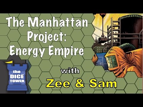 The Manhattan Project: Energy Empire Review - with Zee & Sam