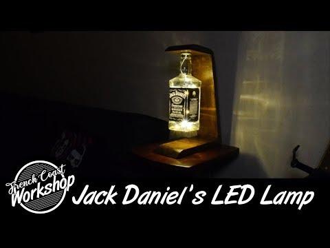 Jack Daniel's LED Lamp || DIY