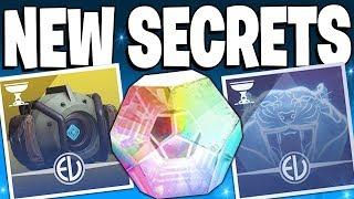 Destiny 2: NEW Secrets & Rewards / Wrapped Items / Crown Of Sorrow Raid - Season Of Opulence News