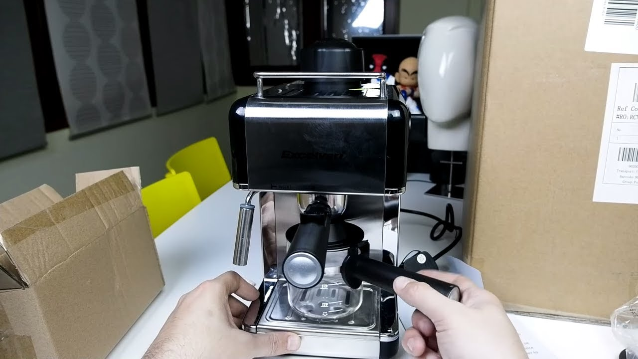 Excelvan Mini Espresso Machine Gadget του κλου