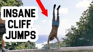 CRAZIEST HAWAII CLIFF JUMPING ADVENTURE YET! | FIRST DECENT ON A MONSTER CLIFF