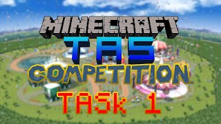 Minecraft TAS Competition TASk 1 Results!