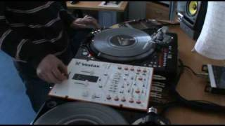 Horn Compose Session with Vestax Controller One Turntable