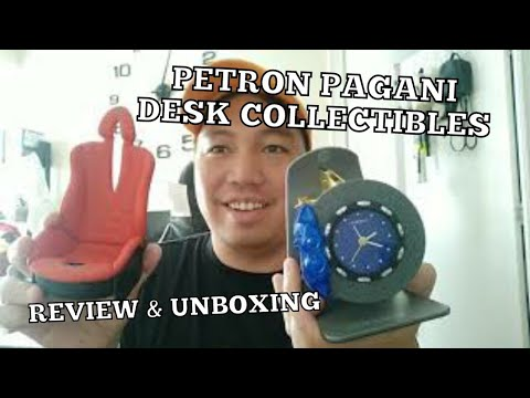 Petron Pagani Hyper Car Desk Collectibles September 2019 (Unboxing and Review)