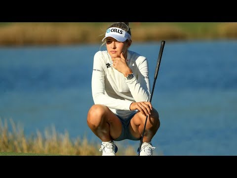 Nelly Korda Highlights Round 3 2018 CME Group Tour Championship