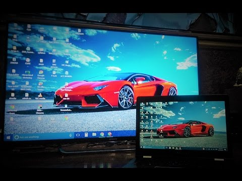 How to mirror/cast pc/laptop to smart tv wirelessely using Windows 10 | Sony Smart Android TV
