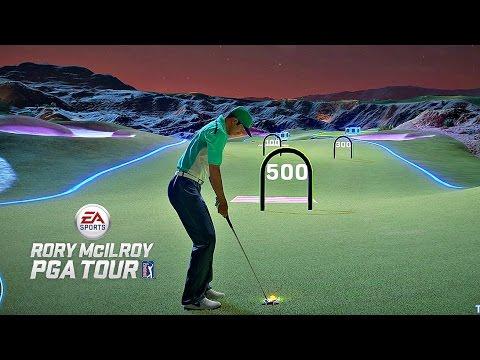 Rory McIlroy PGA Tour Night Club Challenges #3 - SKI JUMP! (Xbox One Gameplay)