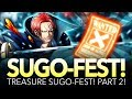 3x MULTIS! V2 SHANKS TREASURE SUGO! Part 2! (One Piece Treasure Cruise - Global)