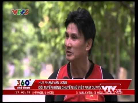Đội tuyển bóng chuyền nữ Việt Nam 2 tuần trước VTV Cup 2013
