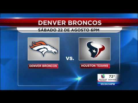 Broncos en tu casa en Commerce City
