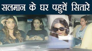 Salman Khan:Sonakshi Sinha, Sneha Ullal & other SPOTTED at Salman's house   वनइंडिया हिंदी