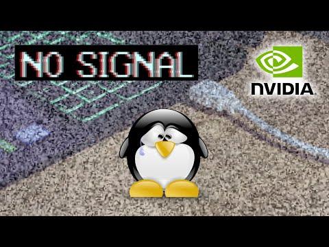 Arreglar monitor externo en notebook con Linux e Nvidia