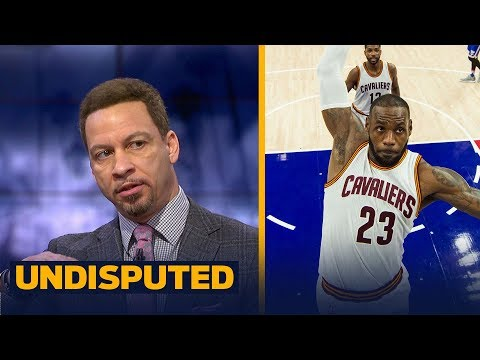 Chris Broussard explains why he disagrees LeBron is playing at an 'all-time high' | UNDISPUTED