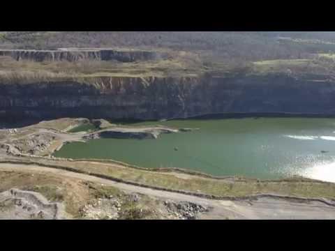 Graymont Limestone Quarry in Pleasant Gap, PA (2nd trip)