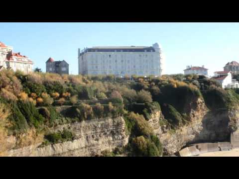 Biarritz Le Phare, le Régina et l'océan