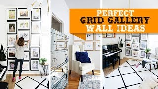60+ Perfect Grid Gallery Wall Ideas in Your Home