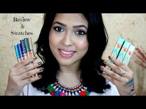 Flormar Color Liners Review and Swatches