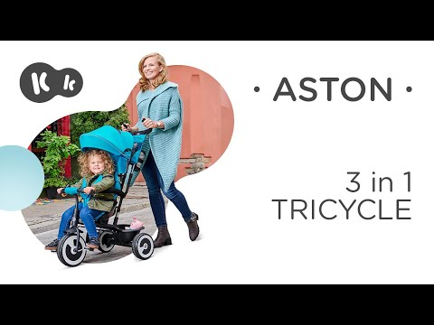 KinderKraft Триколка Aston Сива #BLA2KMo2o5o
