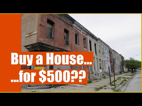 Why dont Investors buy Vacant Blocks in Baltimore City?