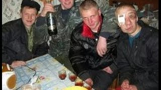 Пьяная сельская драка