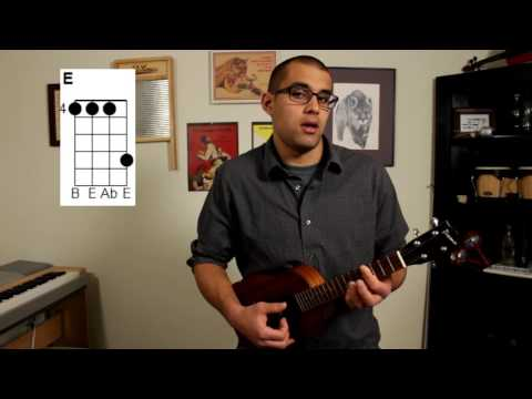 Sweet Pea-Amos Lee: Ukulele Tutorial by Matt Argo
