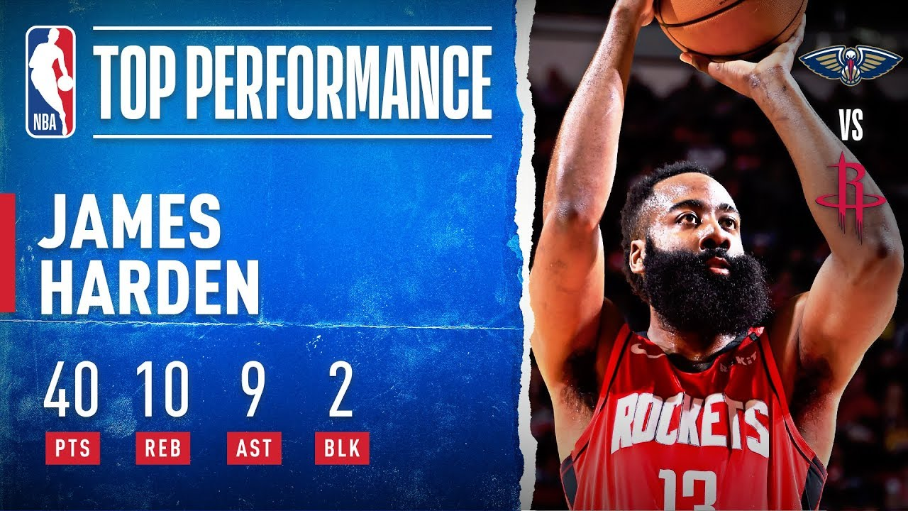 James Harden Pours In 40 PTS In All-Around Performance
