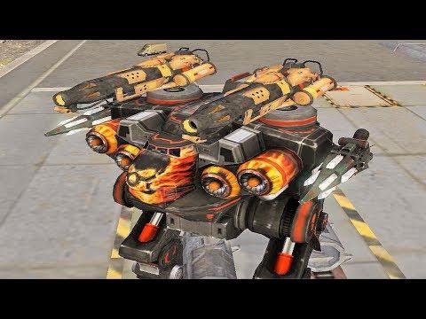War Robots [3.0] Test Server - NEW Flamethrower Weapon Preview